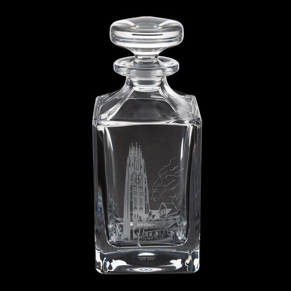 Crystal Harkness Tower Decanter